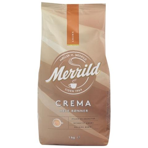 Kafijas pupiņas Merrild crema 1kg