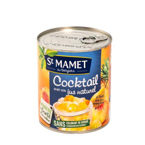 Augļu kokteilis Mamet sīrupā 850g