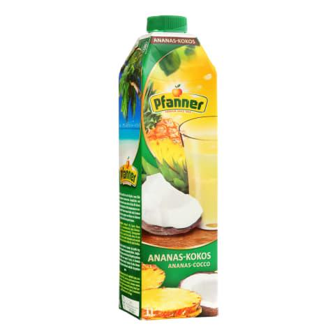 Ananasų ir kokosų sultys PFANNER, 1l