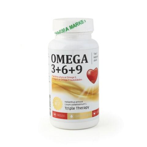 Uztura bagātinātājs Omega 3-6-9 1000mg N30