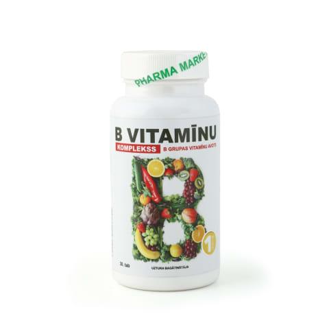 Uztura bagātinātājs B vitamīnu komplekss N30