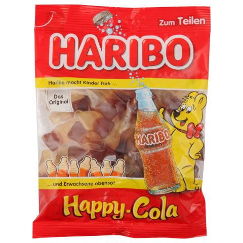 Želejkonfektes Haribo Happy Cola 200g