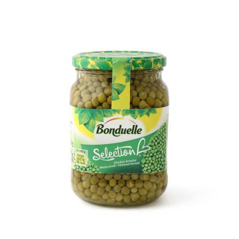 Žalieji žirneliai BONDUELLE SELECTION, 580 ml