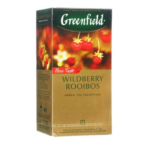 Zāļu tēja Greenfield Wildb. Rooibos 25x1,5g