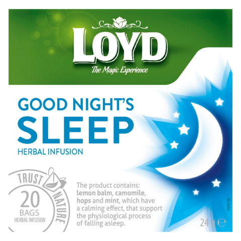 Vaistaž. arbata LOYD GOOD NIGHT'S SLEEP, 24g