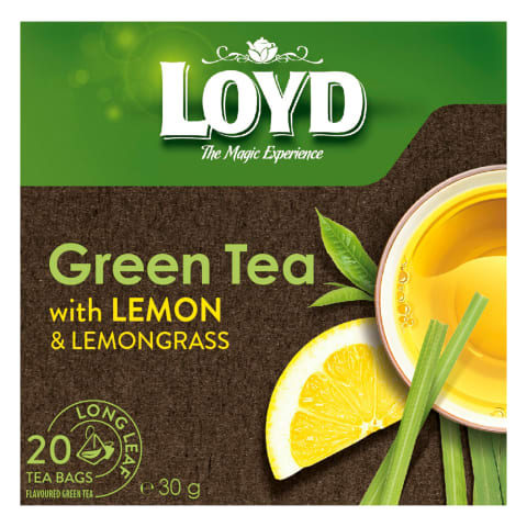 Citrinų, citrinžolių sk.žal. arbata LOYD, 30g