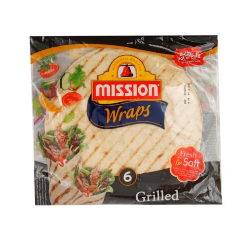 Tortilla Mission grilēta 370g
