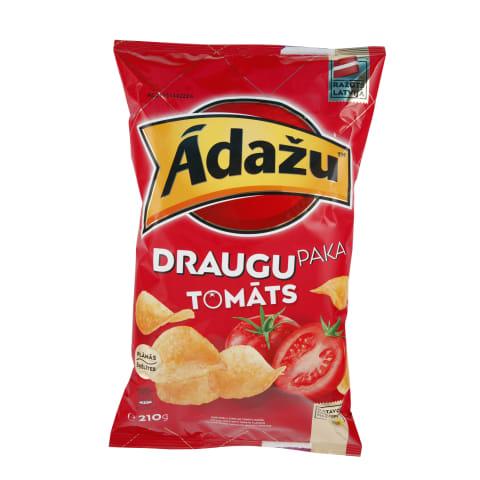 Čipsi Ādažu tomātu 210g