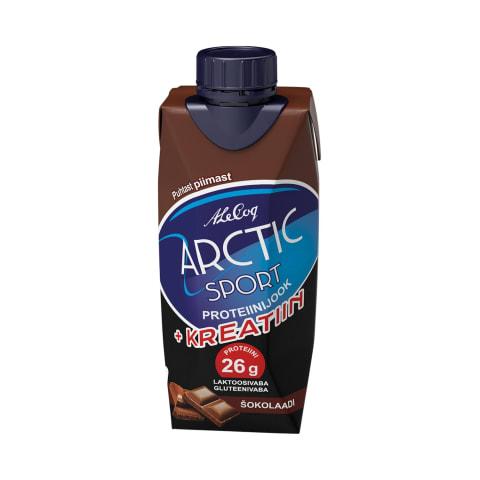 Proteiinijook šokolaad&kreatiin Arctic 330ml