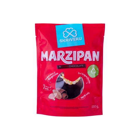 Marcipāns Skrīveru tumšajā šokolādē 150g