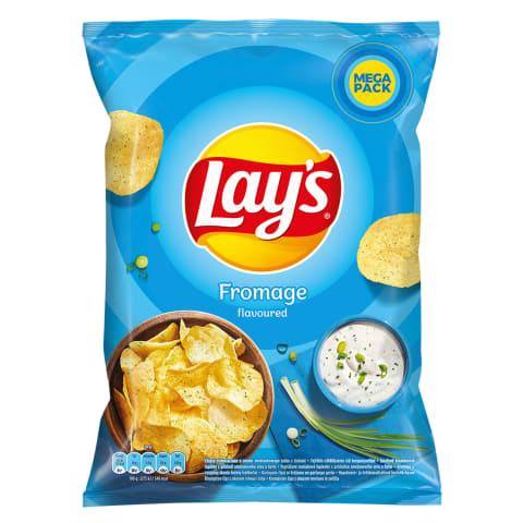 Grietinės skonio bulvių traškučiai LAY'S,215g