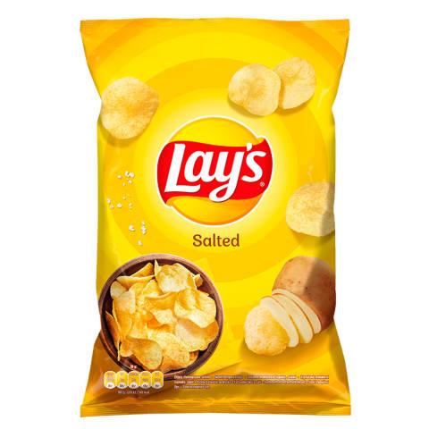 Bulvių traškučiai su druska LAY'S, 140g