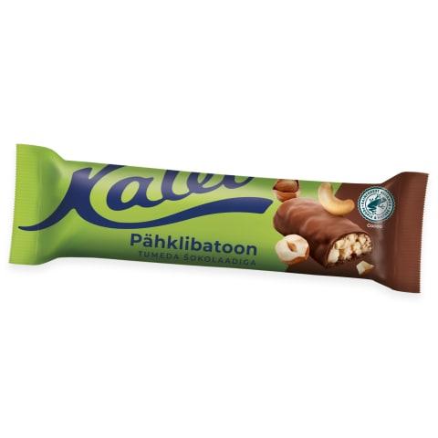 Pähklibatoon tumedas šokolaadis Kalev 40g