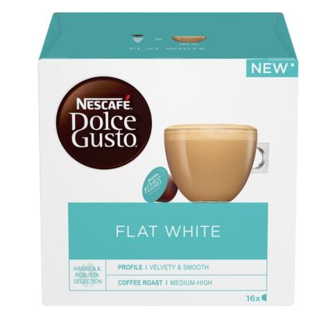 Kavos kapsulės DOLCE GUSTO FLATWHITE, 187,2 g