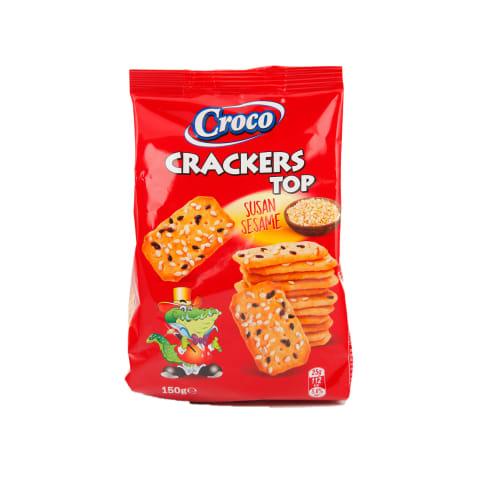Krekeri Croco Top ar sezama sēklām 150g