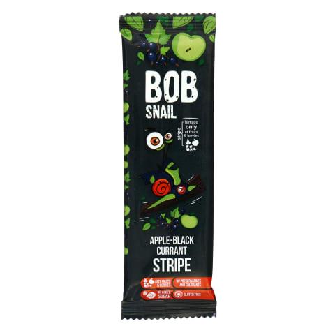 Mustsõstra-õunaribake magus Bob Snail 14g