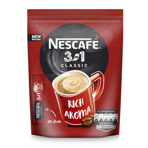 Šķīs. kaf. dzēr. Nescafe classic 3in1 330g