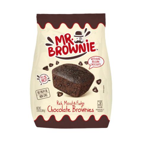 Kēksiņi Mr. Brownie ar šokolādi 200g
