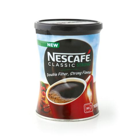 Šķīstošā kafija Nescafe classic strong 100g