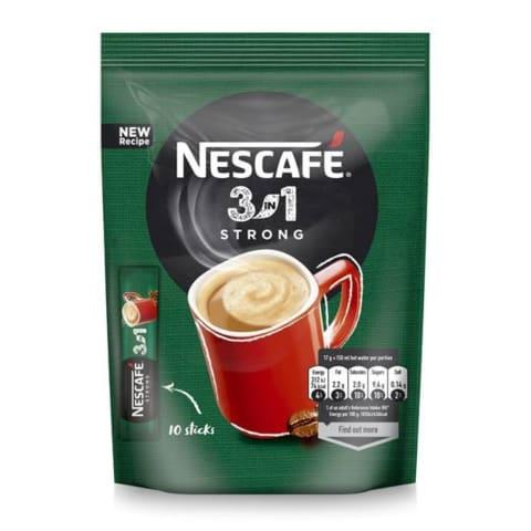 Šķ.kaf.dzēr. Nescafe strong 3in1 10x17g