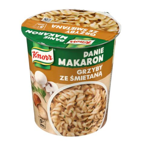 Makaronai su grybų padažu KNORR, 59 g