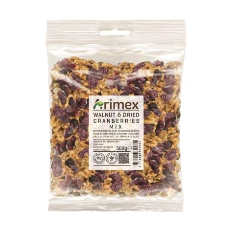Valriekstu dzērveņu maisījums Arimex 500g