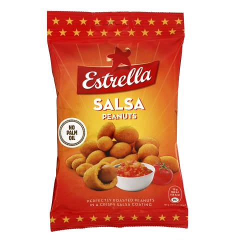 Röst. salsamaits. maapähklid Estrella 140 g