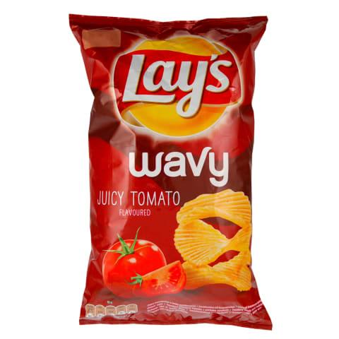 Čipsi Lay's Wavy sulīgais tomāts 130g