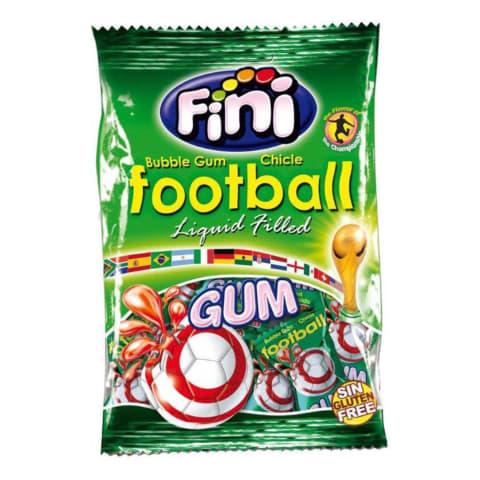 Košļājamā gumija Fini Football ar pild. 80g