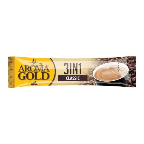 Šķīstoša kafija Aroma Gold 3in1 17g