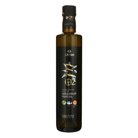 Tyras alyvuogių aliejus CRITIDA E 02, 500ml