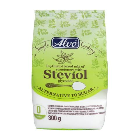 Saldiklių mišinys STEVIJA ALVO, 300 g