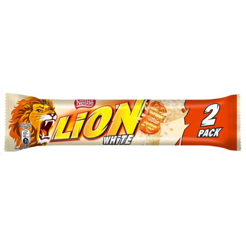 Šokolādes batoniņš Lion White 60gr