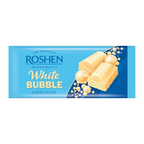 Šokolāde baltā porainā Roshen 80gr