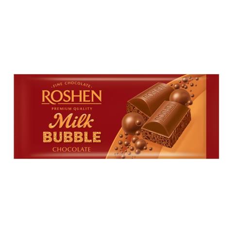 Šokolāde piena porainā Roshen 80gr