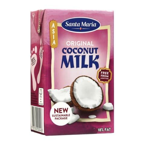 Kokosų gėrimas SANTA MARIA ORIGINAL, 250 ml