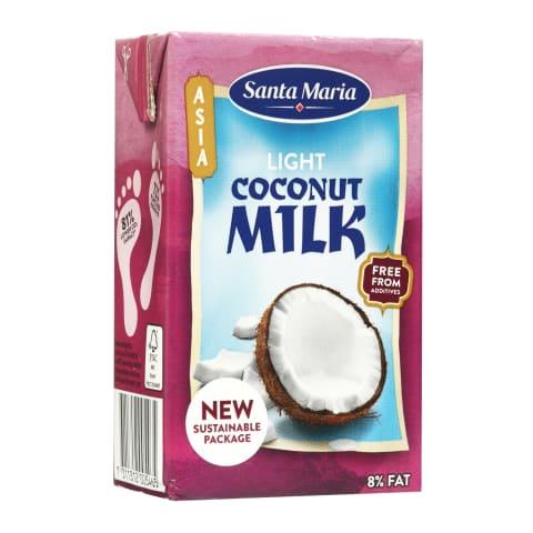 Kokosų gėrimas SANTA MARIA LIGHT, 250 ml