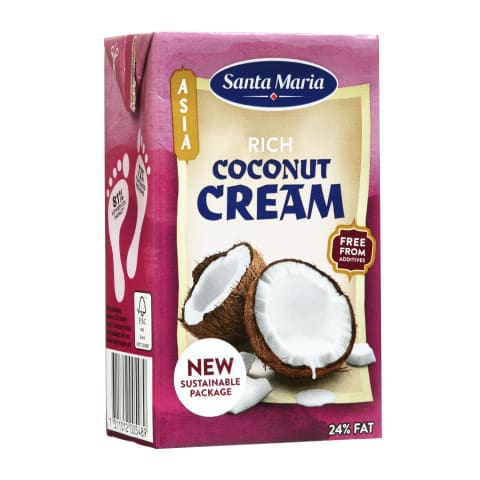 Kokosų kremas SANTA MARIA RICH, 250 ml