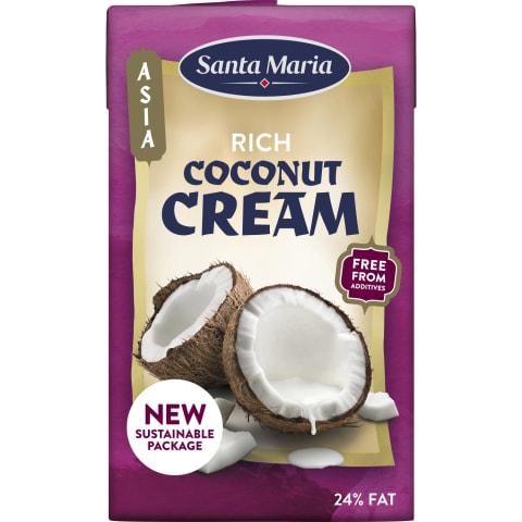 Kokosr. piens Santa Maria krēmveida 250ml