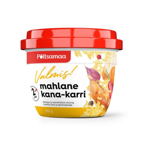 Kana-karri mahlane Topz! Põltsamaa 380g