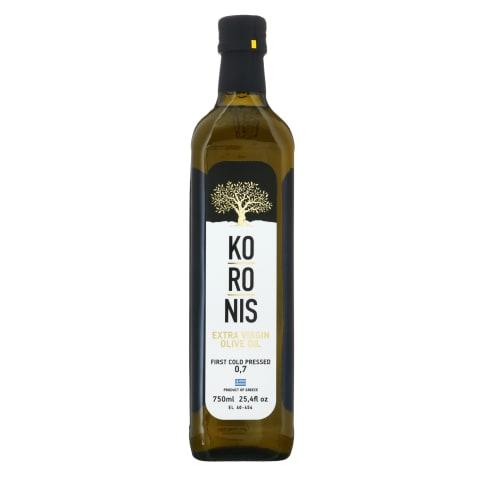 Ypač tyras alyvuogių aliejus KORONIS, 750 ml