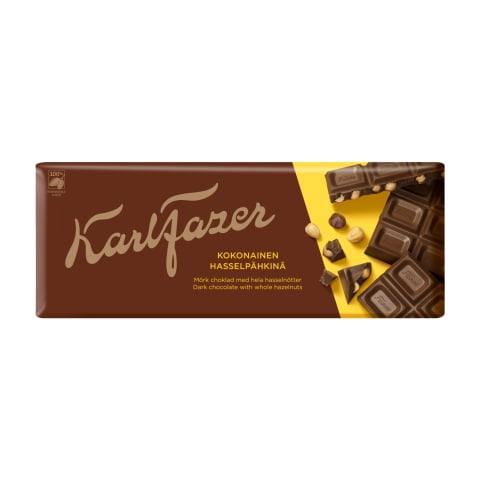 Tume šokolaad sarapuupähklitega Fazer 200g