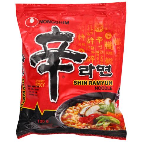 Nūdeļu zupa Nongshim Shin Ramyun 120g
