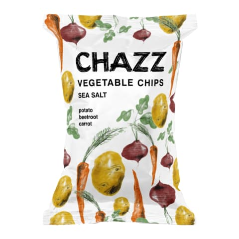 Köögiviljakrõpsud meresoolaga Chazz 75g