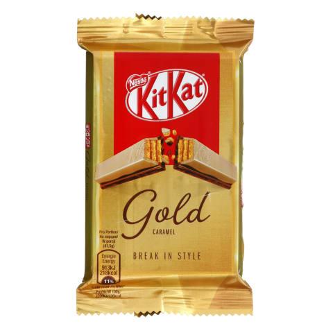Batonėlis NESTLÉ KIT KAT GOLD, 41,5 g