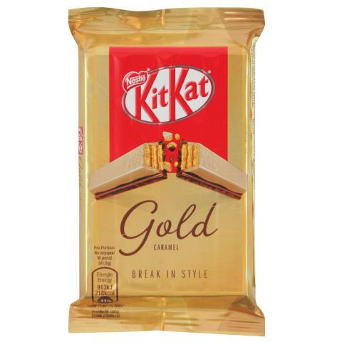 Šokolādes batoniņš KitKat Gold 41,5g