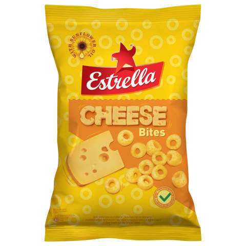 Maisikrõpsud Estrella Bites juustumaits. 140g