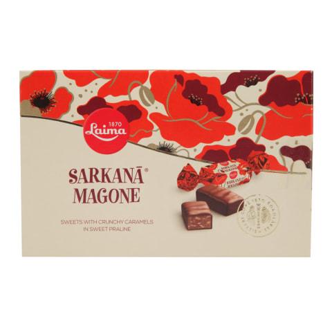 Šokolādes konfektes Laima Sarkanā Magone 200g