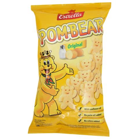 Čipsi Estrella Pom-Bear ar sāli 65g