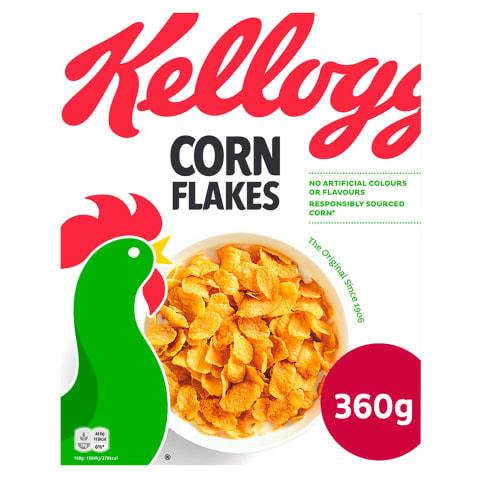 Brokastu pārslas Kellogg's Corn Flakes 360g